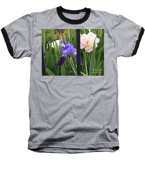 Baseball T-Shirt featuring the photograph Quite The Pair by Nancy Kane Chapman