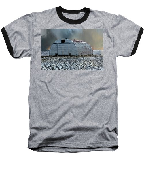 Quonset Hut Baseball T-Shirt