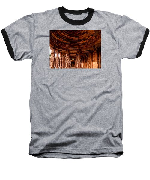 Qutub Minar Baseball T-Shirt