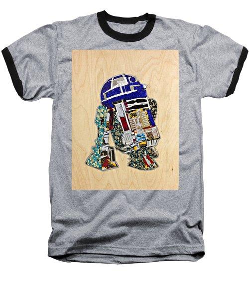 R2-d2 Star Wars Afrofuturist Collection Baseball T-Shirt