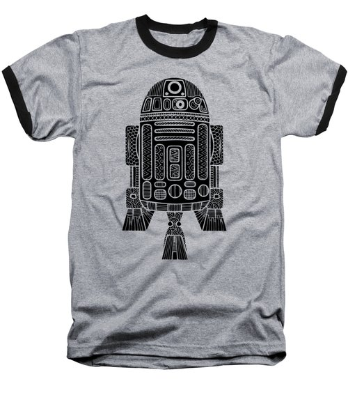 R2 D2 - Star Wars Art Baseball T-Shirt