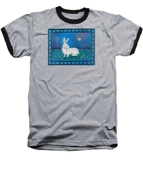 Rabbit Secrets Baseball T-Shirt by Terry Webb Harshman