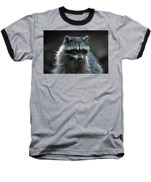 Raccoon 2 Baseball T-Shirt
