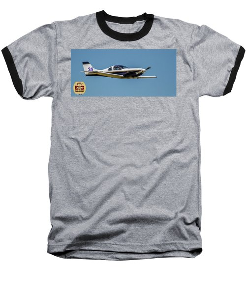 Race 24 Fly By Baseball T-Shirt