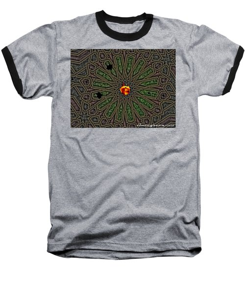 Race For Time In A Space Baseball T-Shirt