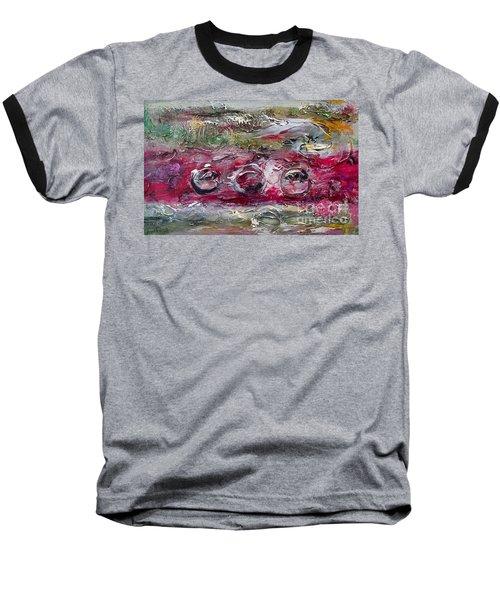 Racing Baseball T-Shirt by Ellen Anthony