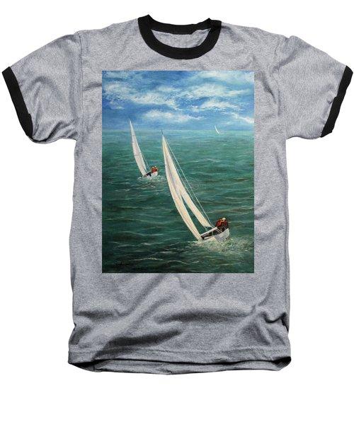 Racing Baseball T-Shirt