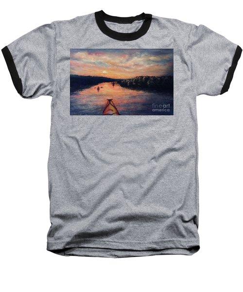 Racing The Sunset Baseball T-Shirt