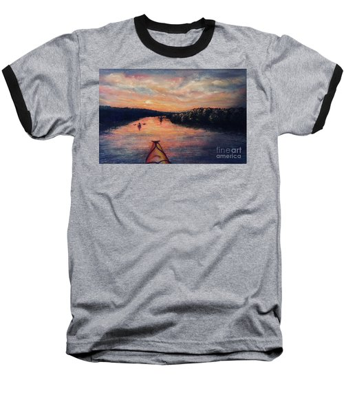 Racing The Sunset Baseball T-Shirt