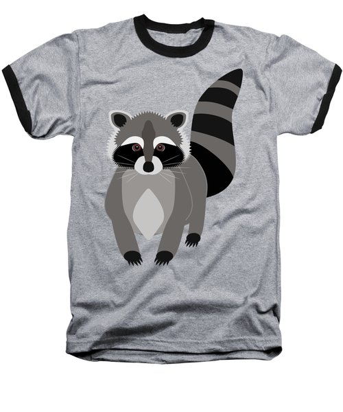 Raccoon Mischief Baseball T-Shirt by Antique Images