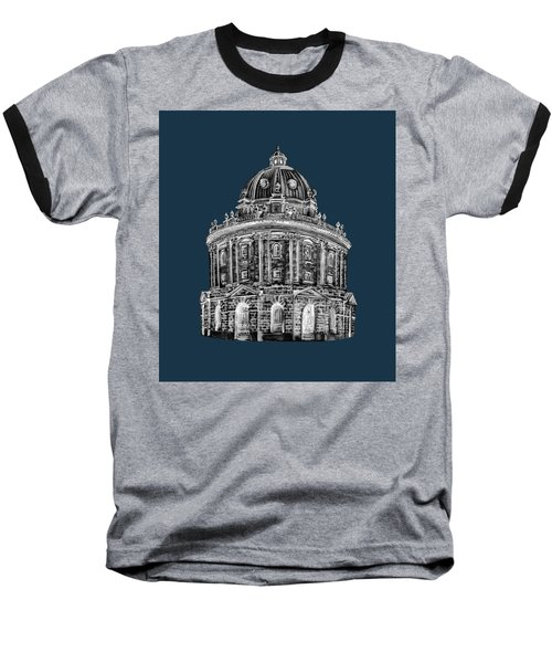 Baseball T-Shirt featuring the digital art Radcliffe At Night by Elizabeth Lock