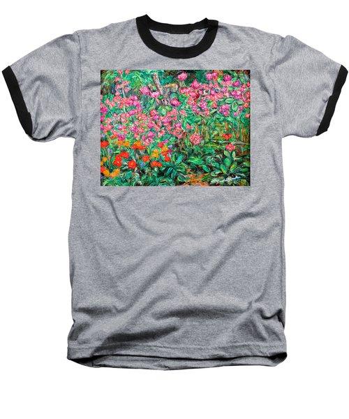 Radford Flower Garden Baseball T-Shirt