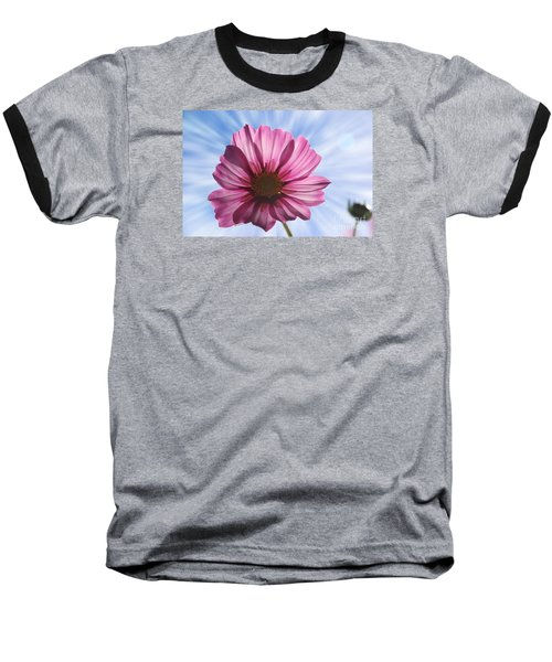 Baseball T-Shirt featuring the photograph Radiant Cosmos by Yumi Johnson