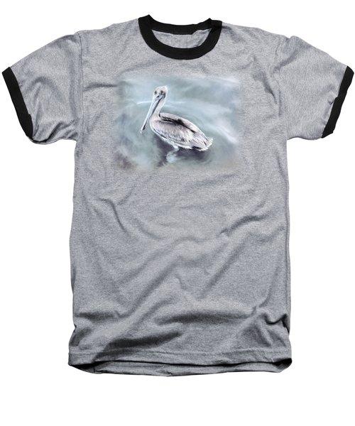Radiant Pelican Baseball T-Shirt by Korrine Holt
