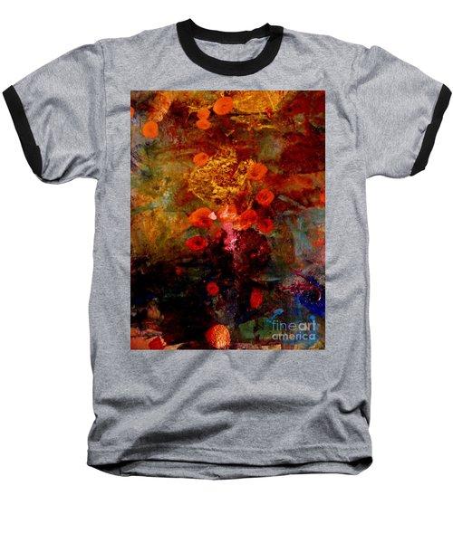 Radiant Red Baseball T-Shirt by Nancy Kane Chapman