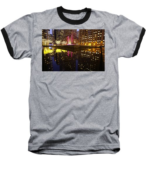 Radio City Reflection Baseball T-Shirt