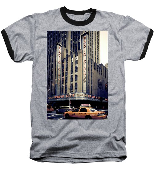 Radio City Baseball T-Shirt