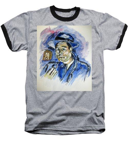 Radio's Sam Spade Baseball T-Shirt