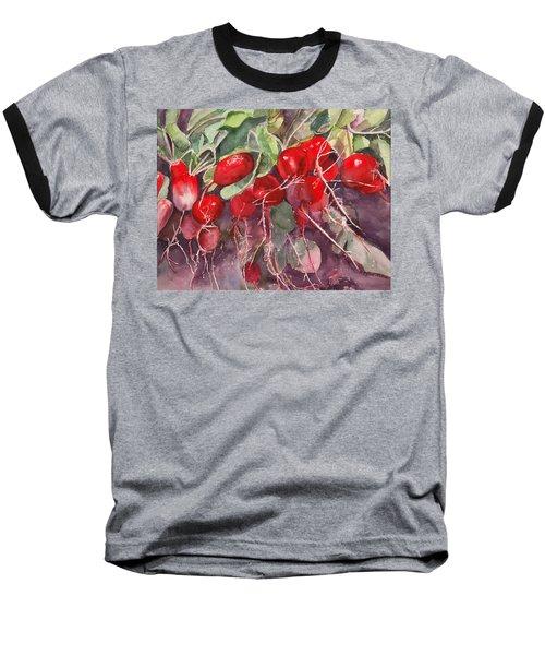 Radishes Baseball T-Shirt