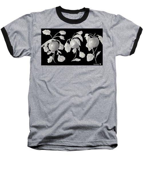 Radishes Baseball T-Shirt by Quwatha Valentine