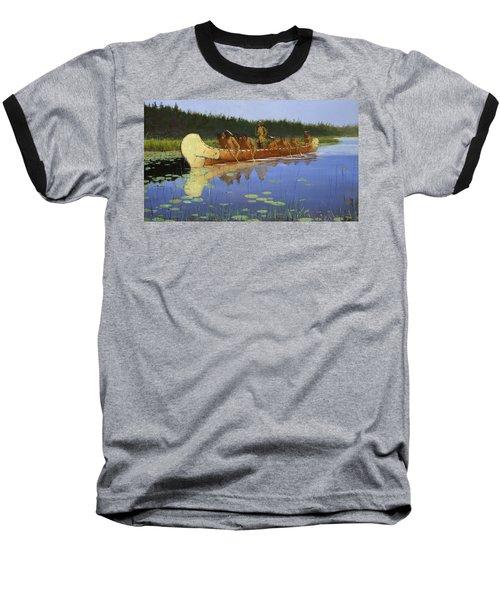 Radisson And Groseilliers Baseball T-Shirt