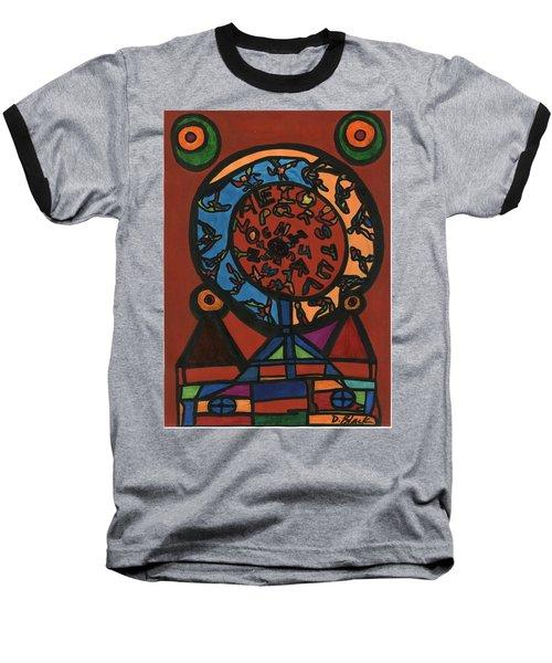 Raetsel Baseball T-Shirt by Darrell Black
