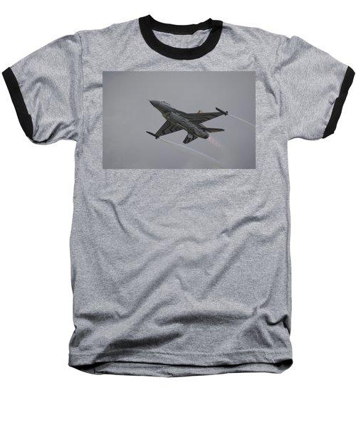 Raf Scampton 2017 - F-16 Fighting Falcon Baseball T-Shirt