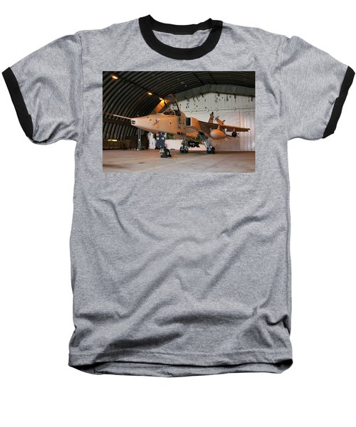 Raf Sepecat Jaguar Gr3a Baseball T-Shirt by Tim Beach