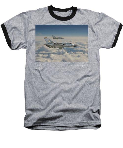 Raf Tornado Baseball T-Shirt by Pat Speirs