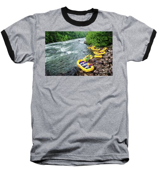 Rafting The Ocoee Baseball T-Shirt