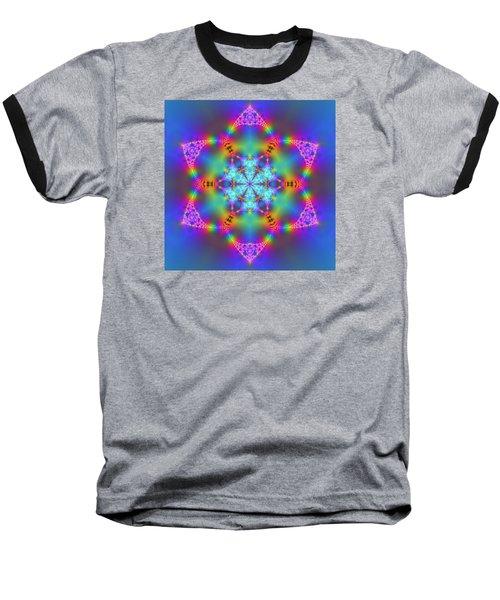 Baseball T-Shirt featuring the digital art Ragamalamandala by Robert Thalmeier