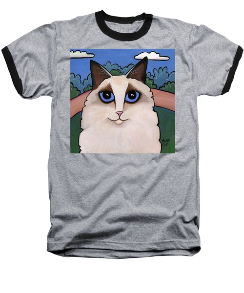 Ragdoll Cat Baseball T-Shirt