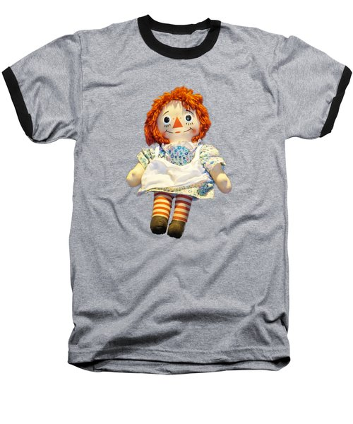 Raggedy Ann Doll Baseball T-Shirt