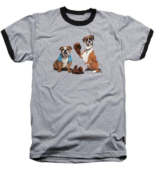 Raging Colour Baseball T-Shirt by Rob Snow