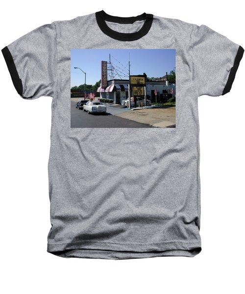Baseball T-Shirt featuring the photograph Raifords Disco Memphis B by Mark Czerniec