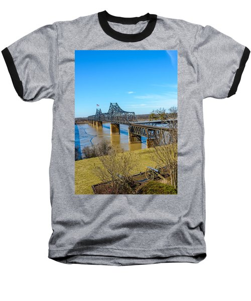 Rail Road Bridge Baseball T-Shirt