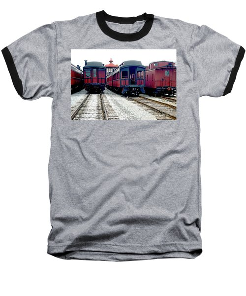 Baseball T-Shirt featuring the photograph Rail Stock by Paul W Faust - Impressions of Light
