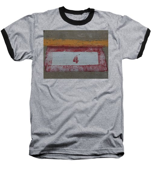 Railroad Art Baseball T-Shirt