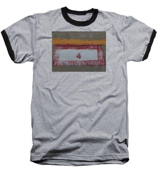 Railroad Art Baseball T-Shirt