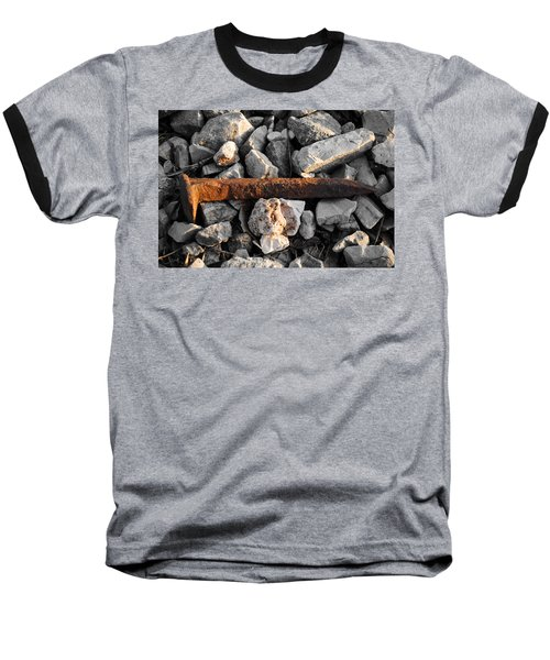 Railroad Spike Baseball T-Shirt