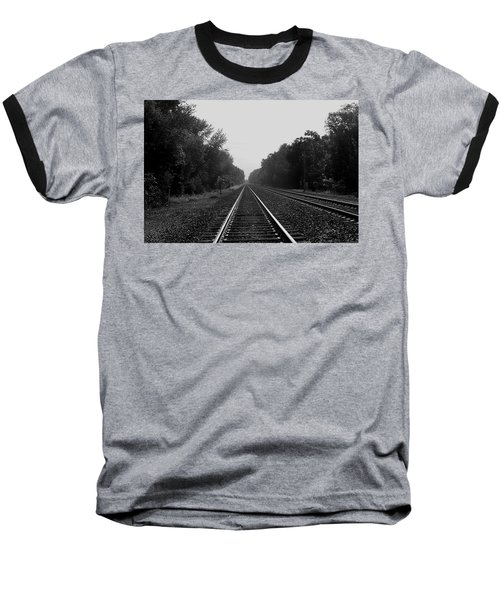 Railroad To Nowhere Baseball T-Shirt