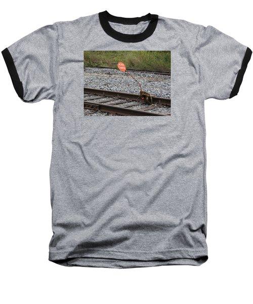 Railroad Work Limit Baseball T-Shirt