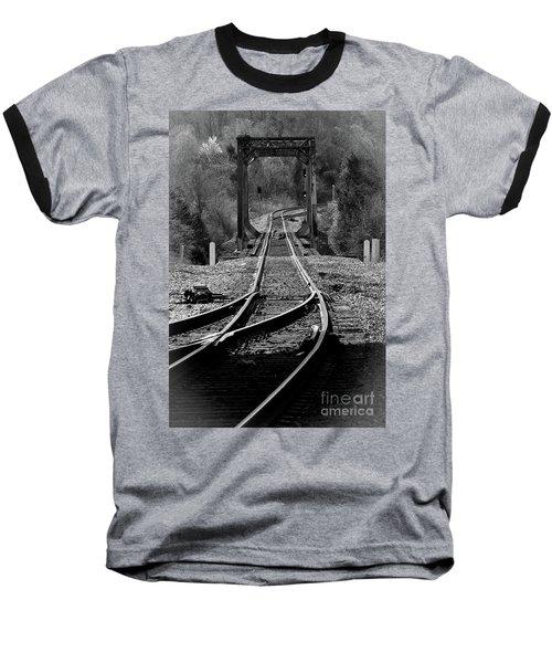 Rails Baseball T-Shirt by Douglas Stucky