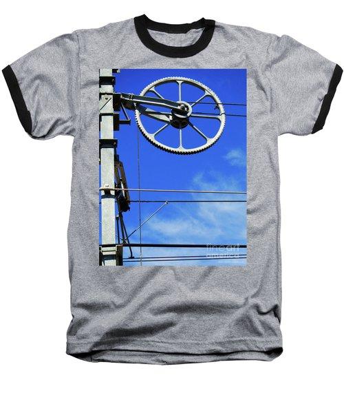 Railway Catenary Baseball T-Shirt