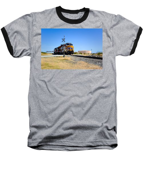 Railway Crossing Baseball T-Shirt