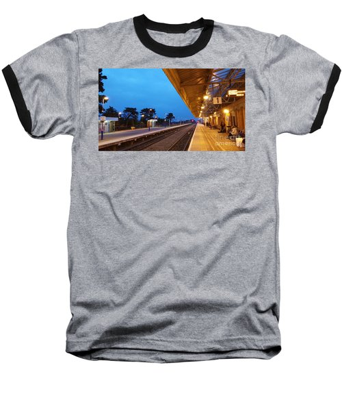 Railway Vanishing Point Baseball T-Shirt