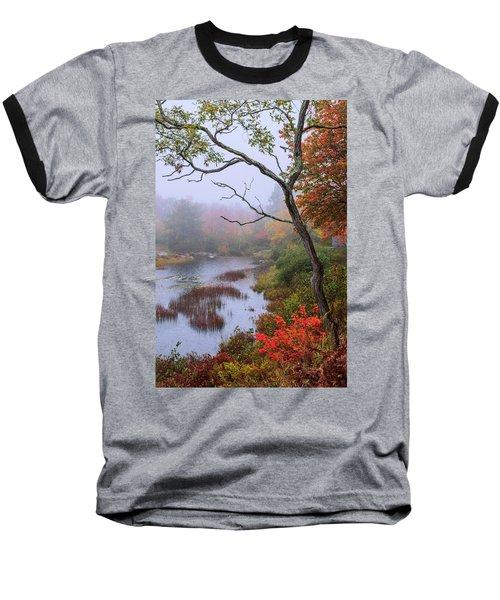 Baseball T-Shirt featuring the photograph Rain by Chad Dutson