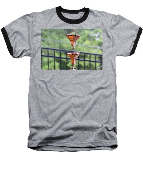 Rain Chains Baseball T-Shirt