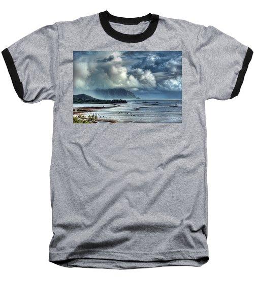 Rain Clearing Kaneohe Bay Baseball T-Shirt