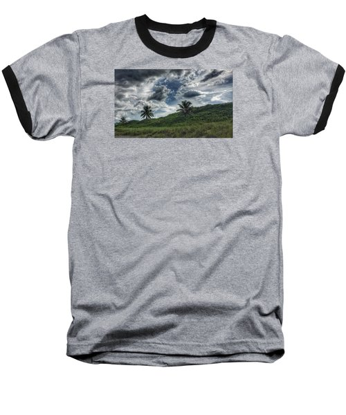 Rain Clouds Baseball T-Shirt